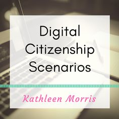 Using scenarios and stories can be a great way to teach students about digital citizenship and internet safety. This board shares a range of scenarios (videos and written). Computer Class, Computer Science, Cyber Safety, Primary School Teacher, Teacher Librarian, Internet Safety, Digital Literacy, Science Geek, Digital Citizenship