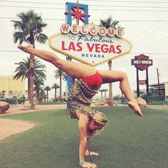 Kino Macgregor, Las Vegas Nevada, Ashtanga Yoga, Just Kidding, Gymnastics, Harley Davidson, Instagram Posts, Cirque Du Soleil