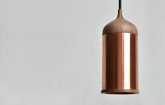 Copper Ceiling Lights // Steven Banken