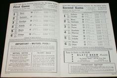 1951 JAI ALAI PROGRAM BISCAYNE FRONTON MIAMI FLORIDA NEAR MINT CONDITION | eBay
