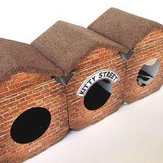 cat beds, cat cubes, cat towers, scratching posts