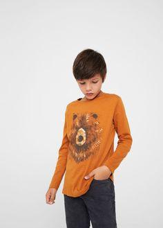 T-shirts, Débardeurs, Chemises T-shirts, Hauts Pour Enfants Uni Basique T-shirt Filles Haut Col Rond Garçon Manches Longues Fin The Latest Fashion
