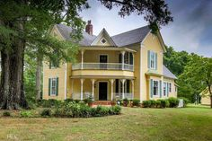 Beautifully restored/period appropriate Queen Anne sits on usable acreage w/road…