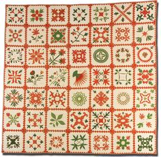"""From the International Quilt Study Center and Museum Exhibition """"What's in a Name?"""""""