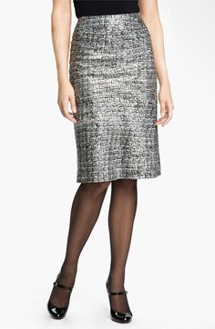 Nic + Zoe Glitter Print Pencil Skirt available at #Nordstrom