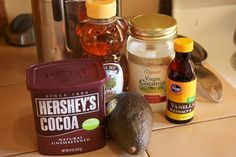 This is absolutely amazing Avocado mouse, use all natural ingredients though cacao.