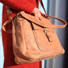 The Tan Aine is a multifunctional handbag that lets the exquisite leather make all the impact. Made in the finest calfskin leather with antique brass hardwear. Tan Leather Handbags, Uk Shop, Tote Bag, Stuff To Buy, Shopping, Accessories, Collection, Design, Women