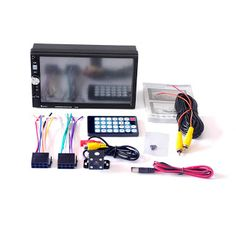 7 Inch 7080B Car Video Player with Touch Screen Bluetooth Stereo Radio Car MP3MP4MP5 Audio USB With Rearview Camera And Remoto (32787854949)  SEE MORE  #SuperDeals