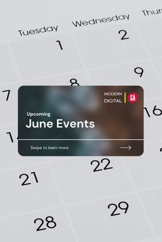 We are excited to announce our upcoming events for June. Modern Digital is teaming up with @GAssembly for exciting virtual events where our founder, @tina_serio will be sharing her #digitalmarketing expertise. Registration is now open. Click the link above for details. June Events, Upcoming Events, Event Marketing, Digital Marketing, Train, Education, Learning, Link, Modern