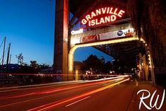 Granville Island, Vancouver, B.C.: A highlight of Vancouver, tucked under the bridges, overlooking the water, beautifully lit at night with loads of shops and food. The Market is a highlight. @haileyzoda