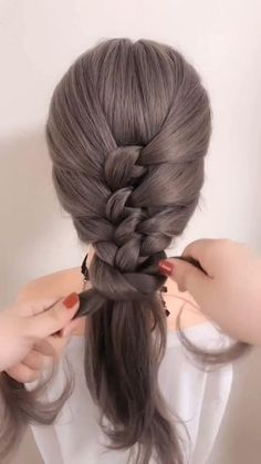 Up Dos For Medium Hair, Easy Hairstyles For Medium Hair, Medium Hair Styles, Curly Hair Styles, Cool Hairstyles, Church Hairstyles, Nurse Hairstyles, Medium Hair Braids, Greasy Hair Hairstyles
