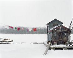 Alec Soth - Peter's Houseboat, Winona, Minnesota 2002