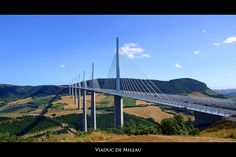 If you're on the A95, you will cross this engineering colossus. An impressive work by Norman Foster, the Viaduc de Millau is probably one of the most surreal scenes you can see in France.