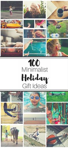 100 Minimalist Holiday Gift Ideas | Minimalist Christmas Gift Ideas | Gift giving guide | Christmas Present Ideas