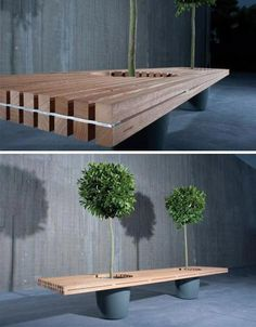 Looks like a hanging bench
