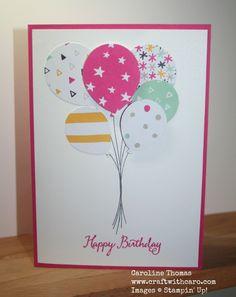 Caroline Thomas Balloon Celebration, It's My Party DSP