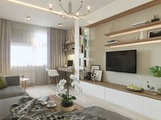 The design of the living room is one of the main tasks that arises when creating a project for a house or apartment. Flat Screen, Blood Plasma, Flatscreen, Dish Display