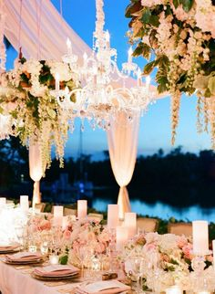 Anna Lucia Events does it again with this fabulous Naples wedding off the Florida coast! This time, we are drooling over the royal tented reception overlooking the water with the most fabulous partial draping we've ever seen. Featuring shimmering gold and powdered pink table settings as well as gorgeous paper goods, this romantic celebration is literally a dream […]