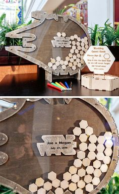 Cool Star Wars inspired Millennium falcon guest book alternative. This is the coolest Star Wars wedding functional decor. #ad #starwars #millenniumfalcon #guestbook #decor #wedding #giftidea
