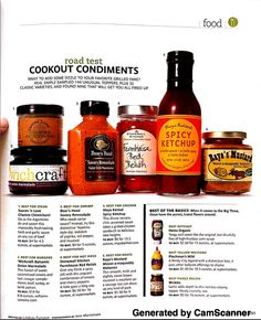 REAL SIMPLE: JUNE 2010 -- Road Test, Cookout Condiments