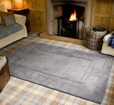 Apollo Grey Rugs | Modern Rugs