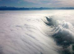 Cloud waterfall by Gianni Cerutti