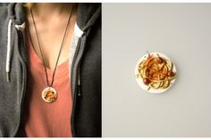 Junk - Spaghetti - Very Limited handmade jewels by Morgane Morel