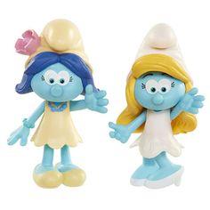 smufs lost village figures   Smurfs 2.25 inch The Lost Village Figure 2 Pack - Smurfette/Smurf ...