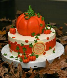Fall Harvest cake: Thanksgiving
