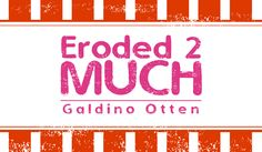 Eroded 2 Much Font · 1001 Fonts