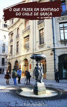 Veja aqui uma lista com 22 atrações gratuitas para visitar e apreciar em Santiago do Chile.  #Chile #Santiago #gratuito #inverno #neve #ferias #viagem Chile Tours, Travel Around The World, Around The Worlds, Countries To Visit, Beautiful World, South America, Travel Destinations, Places To Go, Tourism