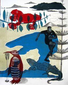 sheyne Tuffery New Zealand Art, Nz Art, Maori Art, Kiwiana, Year 7, Art Courses, Summer Art, Visual Arts, Old And New