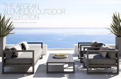 Delightful RH Modern Outdoor Collections