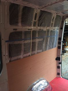Sound Dampening, Insulation and Windows | Sprinter Van Diaries