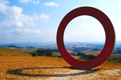 We saw this on the way in to Volterra.