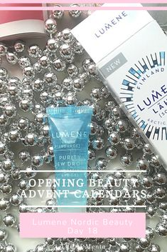 Opening Lumene Nordic Beauty Advent Calendar