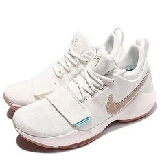 factory authentic 15c8b a142d Nike PG1 EP Summer Pack Chalk Burst One Paul George Ivory Oatmeal Men  878628-110