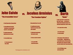 Calvinism, Arminianism, and Vaderism Compared