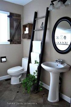 Sehe dir das Foto von inselkind mit dem Titel schicker Handtuchhalter - tolles Bad  und andere inspirierende Bilder auf Spaaz.de an.