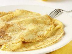Ricetta Le crepes senza uova | Donna Moderna