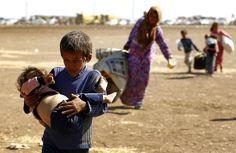 Bebés refugiados