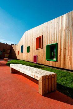 Edificio Educación infantil y guardería Bizkaia