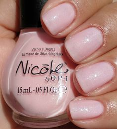 Nicole by OPI Kardashian Kolors: Kim-pletely in Love.