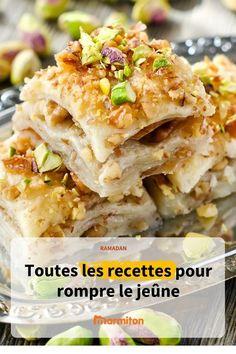 Recettes spécial Ramadan #recette #ramadan #marmiton