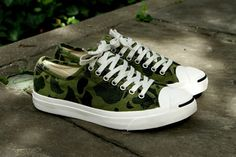 0577384e018 Converse Jack Purcell LTT Olive Branch Camo