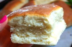 Homemade Dinner Rolls, Healthy Recepies, Candy Cookies, No Bake Desserts, Bread Baking, I Love Food, Hot Dog Buns, Bread Recipes, Brunch