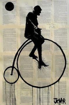 Saatchi Online Artist Loui Jover; Drawing, cycle #art