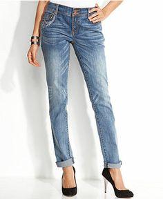 Denim & Supply Ralph Lauren Destructed Boyfriend Jeans, Ambes Wash ...