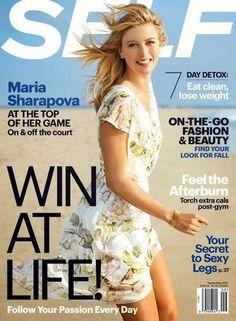 us cover of sept 2014 allure | Maria Sharapova covers Self US September 2014 - Celeb Crunch