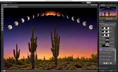 """2-Day Perfect Photo Suite 9 Crash Course in Scottsdale, Arizona My popular """"Eclipse Blood Moon over Phoenix"""" photograph was mostly composited and enhanced with Perfect Photo Suite. Read the storyhere. Dates:Saturday and Sunday, November22 & 23, 2014 from 9am to 5p... - http://blog.mattsuess.com/2-day-perfect-photo-suite-9-crash-course-in-scottsdale-arizona/?Pinterest"""
